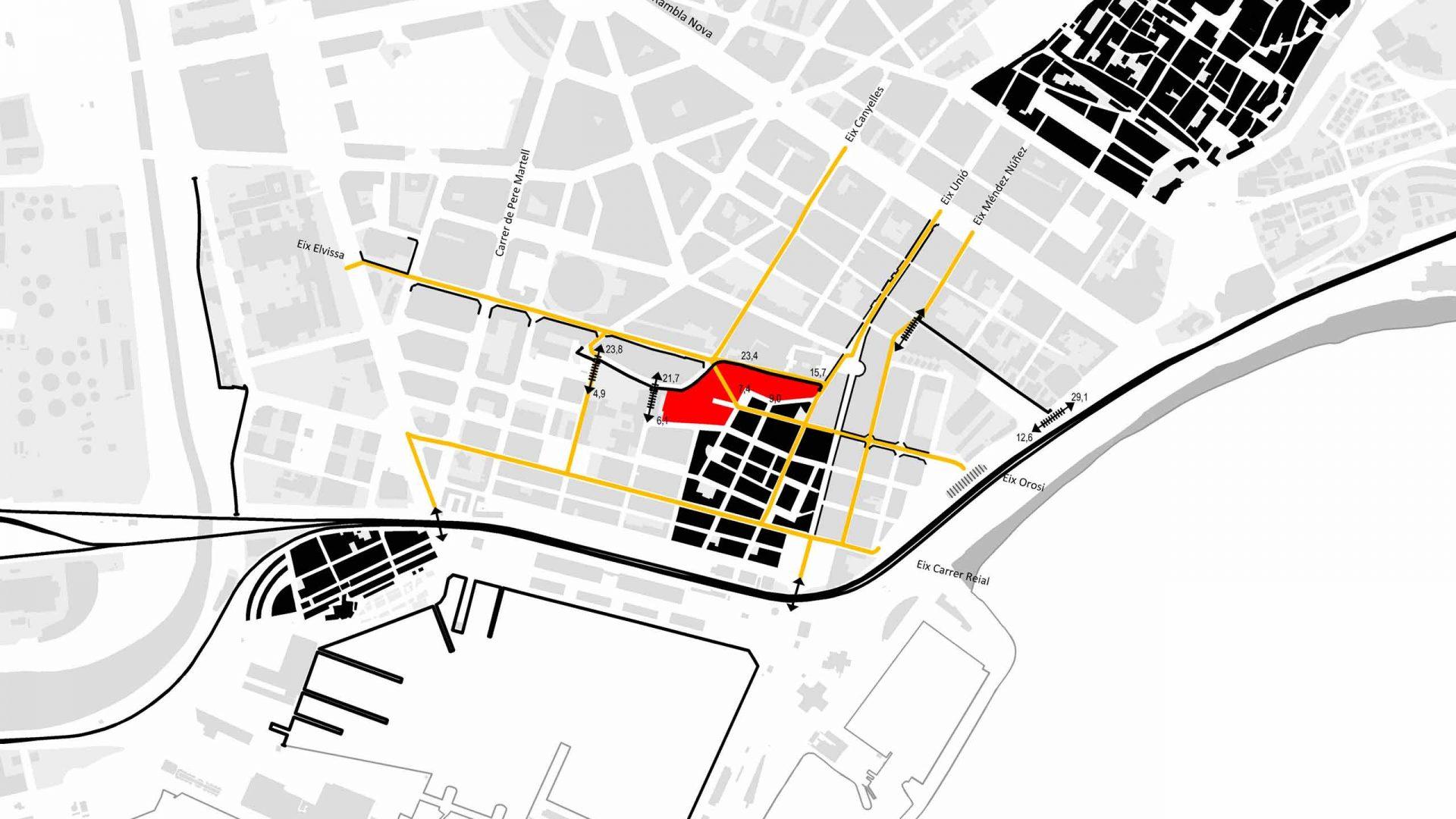 Estudi de les barreres urbanístiques a Tarragona