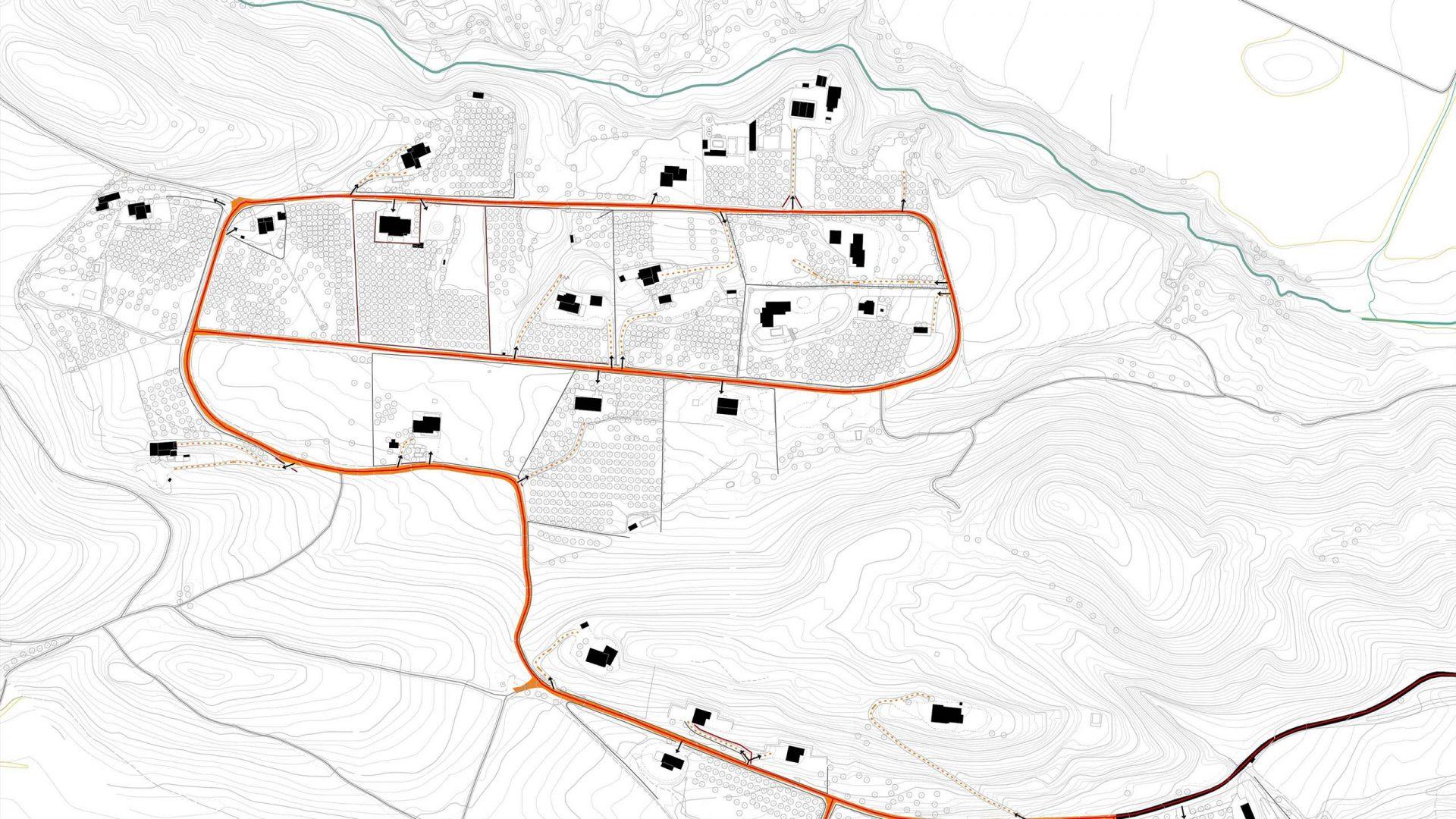 Amplada de vial i nivell d'urbanització