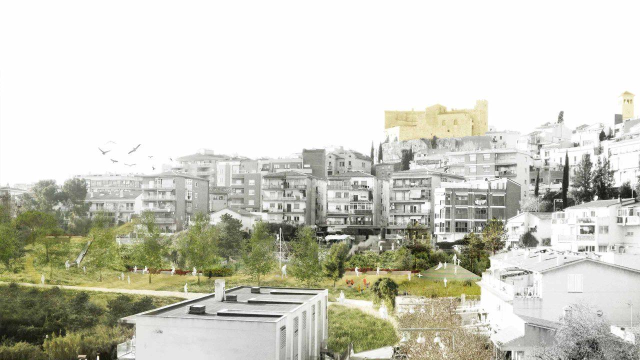Perspectiva de l'espai lliure urbà