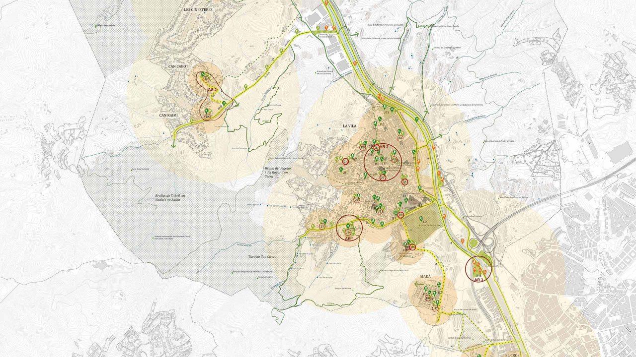 Proposta per a les àrees de lleure a Argentona