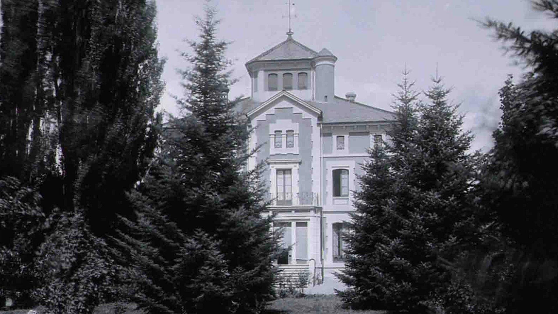 Imatge de la casa gran de Casa mata del segle XIX