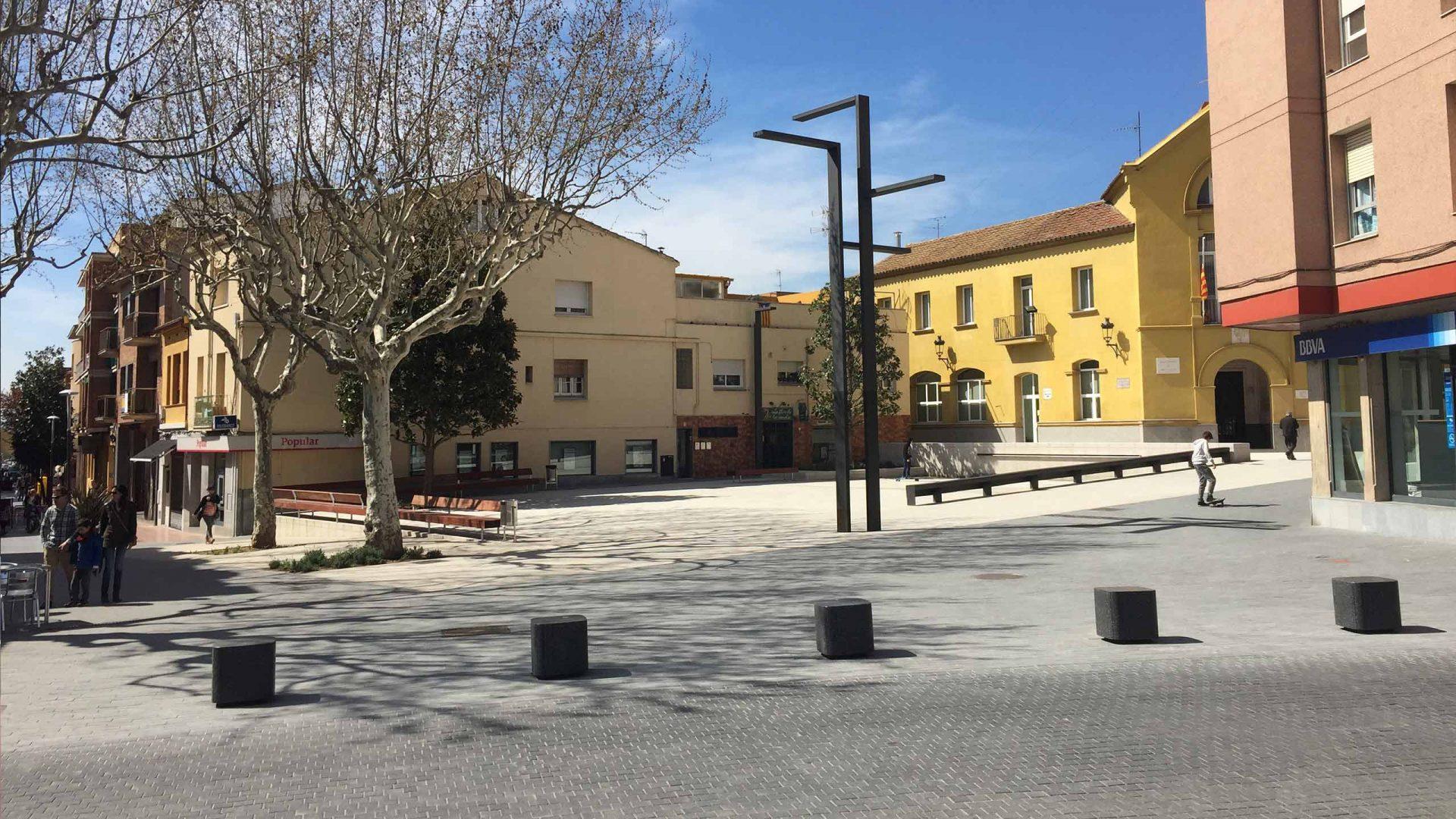 Plaça de la Vila, Montmeló